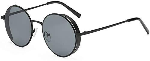 SFHTFTRGJRYJ Damen Herrenmode Quadrate Metallrahmen Marke Klassische Mode Living Sonnenbrillen Bz577 Runde Sonnenbrille Für Männer Und Frauen (Color : A, Size : Size)