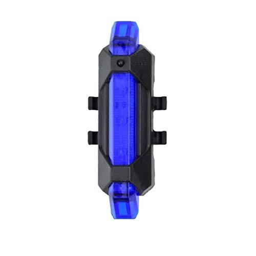 Cycling Decoration LED Strip Flashlight Bar for Electric Decoration Safety Bicycle Scooter Part Light Cycling Taillamp (Color : Blue)