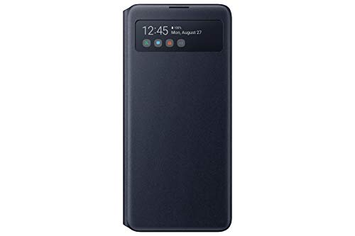 Samsung Lite S - View Wallet Cover para Galaxy Note 10 Lite, Negro