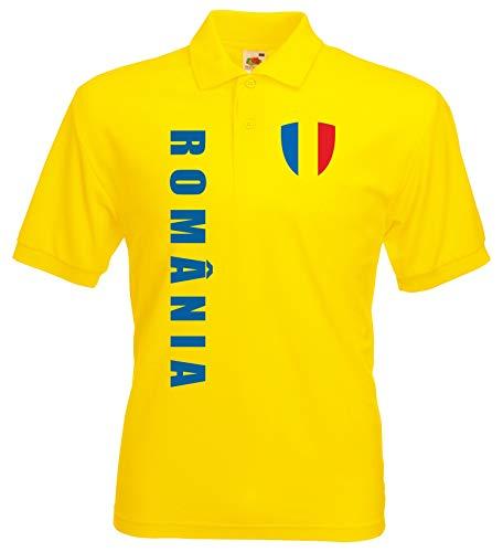 aprom - Rumänien Kinder Polo T-Shirt Trikot Fußball SPA ROM (104)