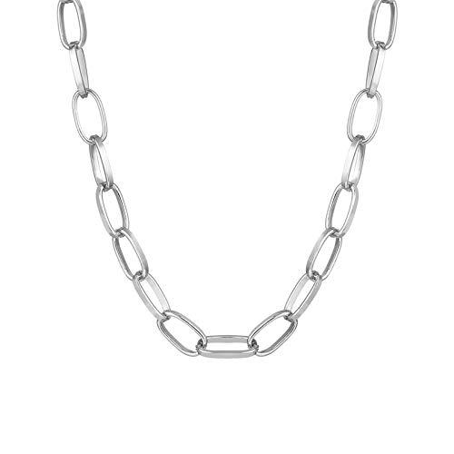 Collar Joyas Collar De Gargantilla De Cadena De Monedas Multicapa Vintage para Mujer, Color Dorado Y Plateado, Retrato De Moda, Collares De Cadena GRU