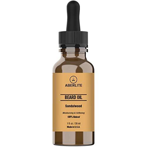 Aberlite Beard Oil for Men Growth & Beard Conditioner - Softens & Moisturizes