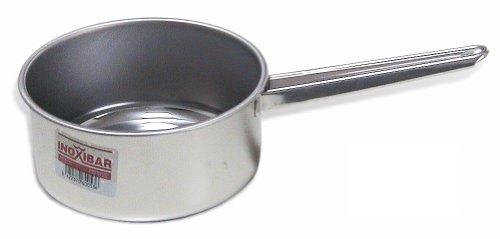 INOXIBAR, Casseruola con Manico, in Acciaio Inox, da 16cm