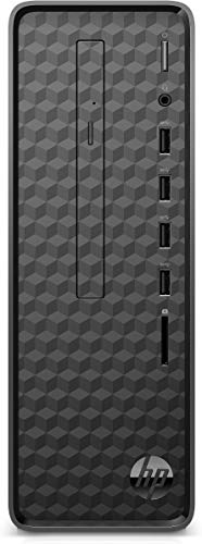 HP Slim S01-aF0013ng Desktop PC (AMD Athlon 3050U, 4GB DDR4 RAM, 256 GB SSD, AMD Grafik, Windows 10) schwarz