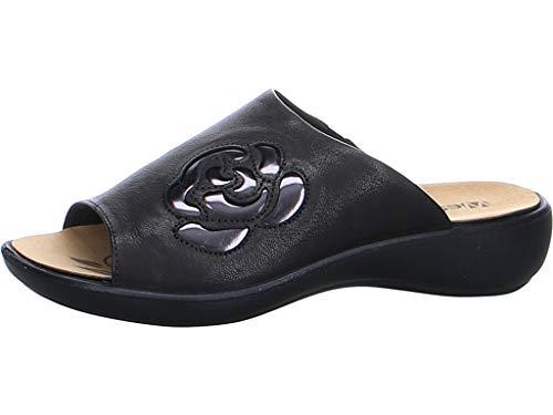 Westland Sandalias para mujer by Josef Seibel Ibiza 117, sueltas, color Negro, talla 44 EU