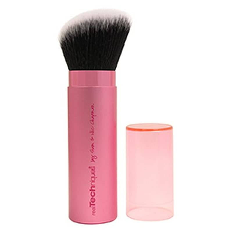 Real Techniques Retractable Kabuki Brush - Pink (並行輸入品)