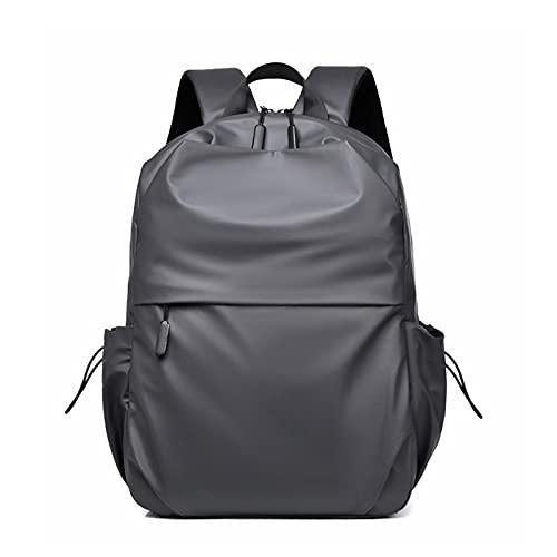 Zaino Da Viaggio Del Computer Portatile Casual Daypack Impermeabile Anti Furto Viaggio Bookbag Con Usb Charing Port Per Le Donne Uomini, Grigio, L