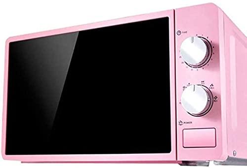 Temporizador de horno microondas One-Touch Express Cook Fácil de limpiar Diseño con estilo 20L Combi Microondas (Color: Rosa)
