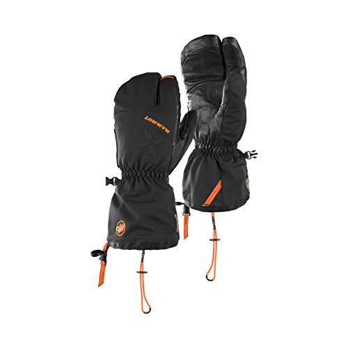 Mammut Eigerjoch Pro Kletterhandschuhe, Unisex Erwachsene, Unisex-Erwachsene, 1090-05760-0001_22-23 cm, Schwarz, 22-23 cm
