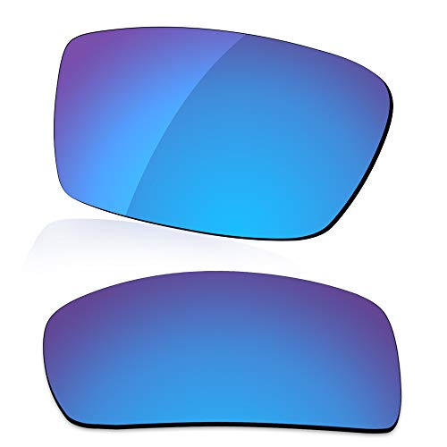 LenzReborn Reemplazo de lente polarizada para gafas de sol Costa Del Mar Motu - Más opciones, Azul Hielo - Espejo polarizado, Talla única