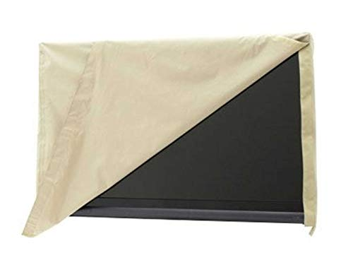 Covermates Outdoor Flip Top TV Cover – Water Resistant, Flip Top for Quick Viewing, Outdoor TV Covers - Khaki