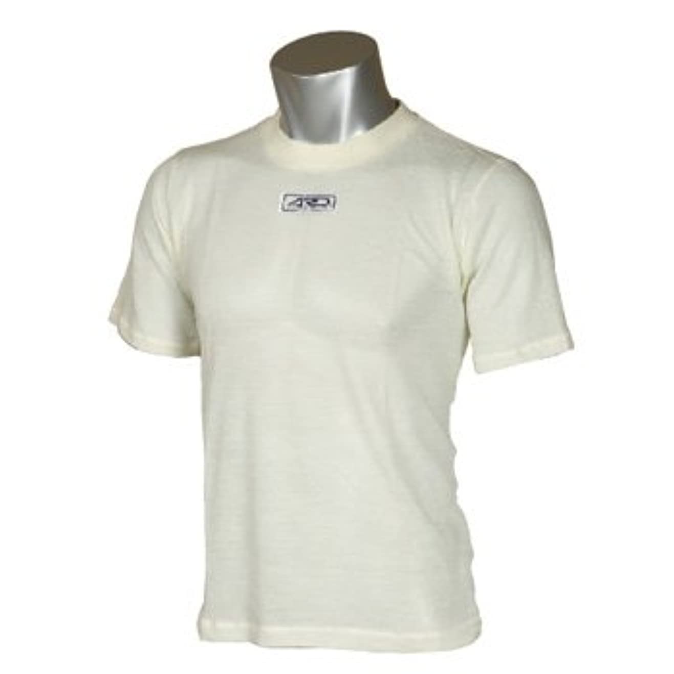 良心的権限ラジウムARD ノーメックスTシャツ ARD-581 Lサイズ/ホワイト