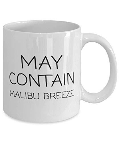 N\A aza de café con Ron, Puede Contener Malibu Breeze, Ideal para Amantes del Alcohol, mamás, papás, Hombres y Mujeres, Buena para Oficina, hogar, Bar