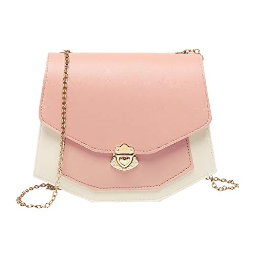 Buy Discount Leaf2you Women's Artificial Leather Shoulder Bag Flap Polygon Crossbody Chain Messeng...