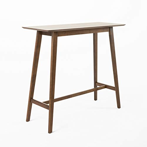 Christopher Knight Home Moria Wood Bar Table, Natural Walnut Finish
