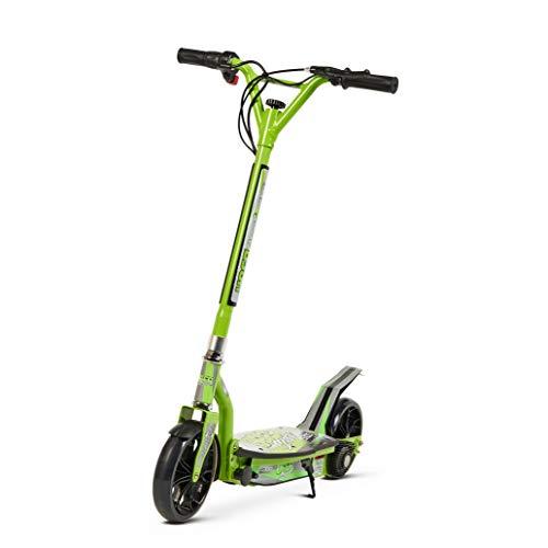 TECNOZONE Scooter, Patinete eléctrico Urbano Muy práctico y Ligero, Verde