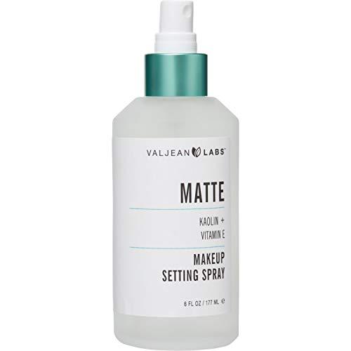 Valjean Labs Matte Makeup Setting Spray, Koalin + Vitamin E