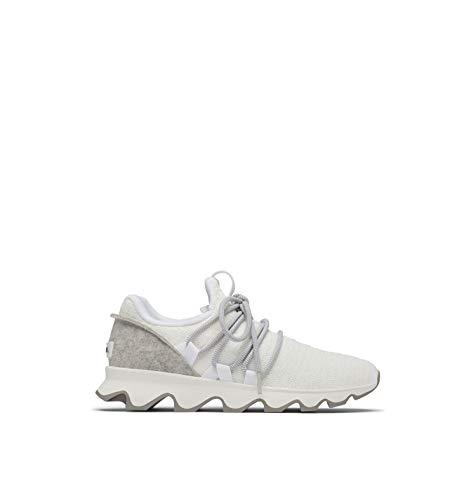 Sorel Women's Kinetic Lace Sneaker - Casual - Gradient-White - Size 10.5