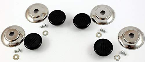 Topfdeckelgriffe Ersatzgriffe - K&B Vertrieb- Griff Topfdeckel Deckelknauf Knauf Pfannendeckel 337a (4 Stück)