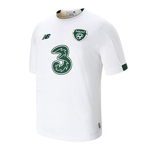 New Balance Unisex Kinder FA Irland 2019/20 Auswärts Junior Ss Trikot S/s Top M Auswärts