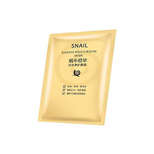 1pc femmes hydratant Facial masque feuille escargot Essence masque feuille blanchissant rétrécir les Pores feuille escargot Hydro Gel masque pour tous