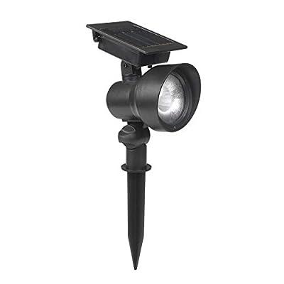 Portfolio SS39PA-P2-BK-T24 12x Black Solar LED Landscape Flood Light
