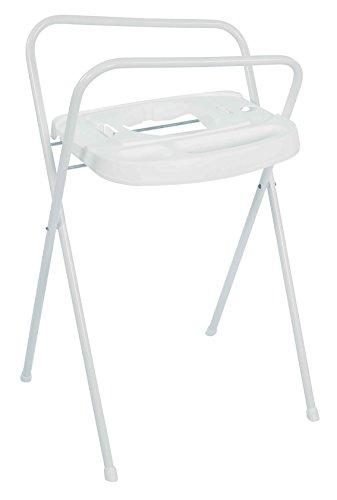 Bébé-Jou Click - Soporte bañera de 103 cm con toallero, color blanco