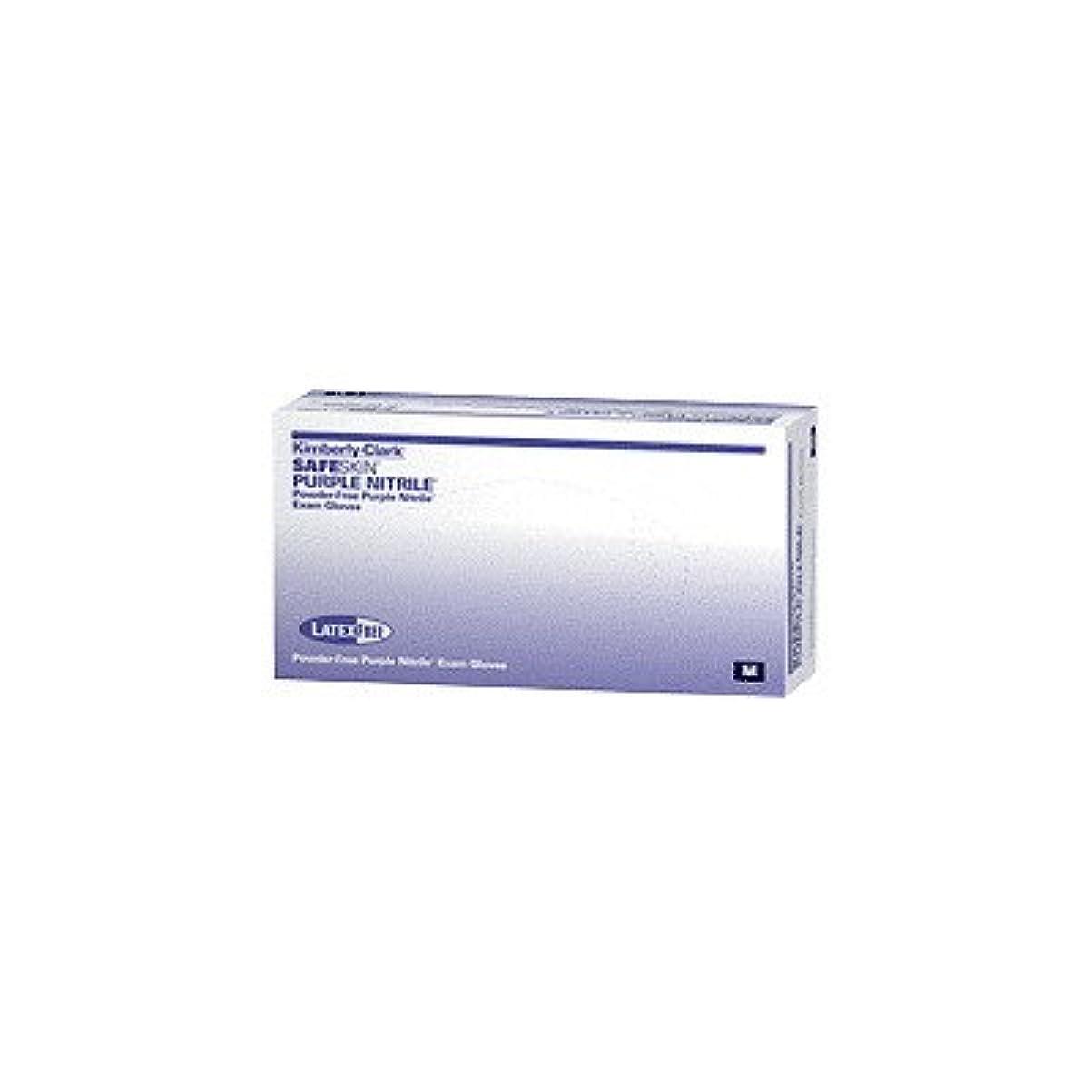 ラダ観客ブリリアントKimberly-Clark Professional Safeskin Nitrile-XTRA Nitrile Exam Gloves Small Purple, 12 L, 80mm W, Powder-free, Latex-free (Box of 100 Each) by Kimberly-Clark Professional
