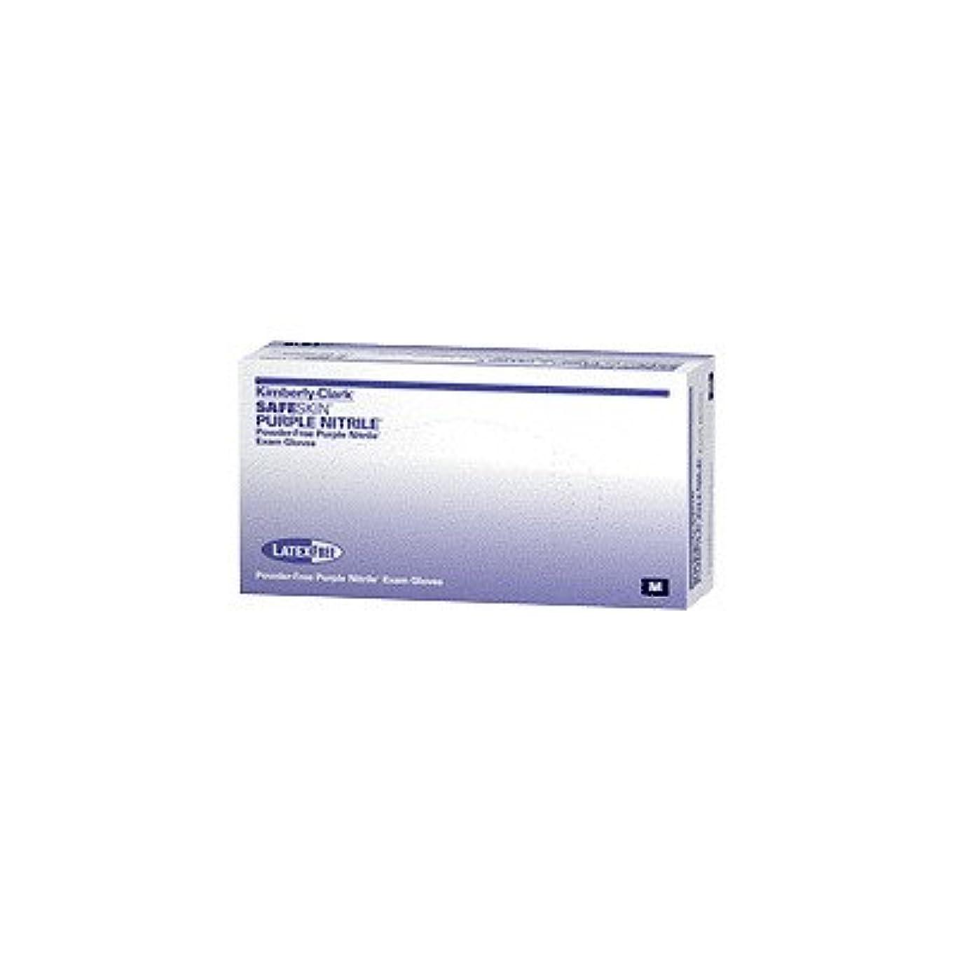 エンゲージメントキリスト即席Kimberly-Clark Professional Safeskin Nitrile-XTRA Nitrile Exam Gloves Small Purple, 12 L, 80mm W, Powder-free, Latex-free (Box of 100 Each) by Kimberly-Clark Professional