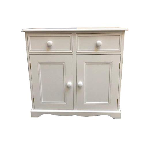 Wye Valley Pine Painted Traditional 3ft Sideboard (Cream)