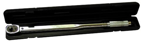 Mountain 16250 1/2-inch Drive Torque Wrench - 25-250 ft/lbs (with varying case colors)