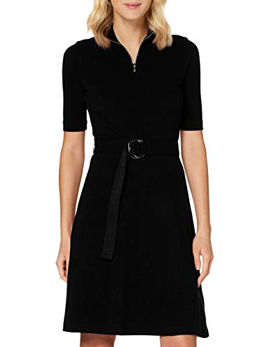 HUGO Damen Kleid Nimona, Black1, XL