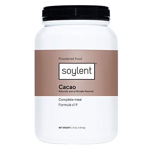 Soylent Cacao (Chocolate) Plant Protein Meal Replacement Powder, 36.8 oz