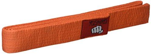 YOSIHIRO 49002.007 Cinturón, Unisex Adulto, Naranja, 2.40 cm