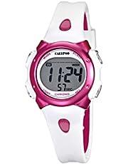 Calypso, orologio da bambina con quadrante digitale LCD e cinturino in plastica multicolore, K5609/3