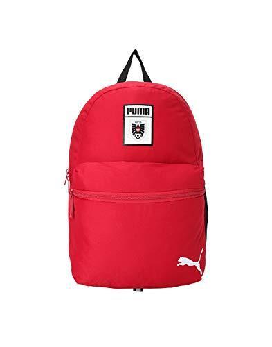 Puma Austria DNA Phase Backpack - Zaino rosso pepper-Puma nero, taglia unica