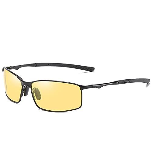 Ousyaah Gafas de Sol Hombre Mujeres Clásico Retro Gafas de sol Polarizadas UV400 Sunglasses Aire Libre Deportes Ciclismo Golf Conducción Aviador Gafas, Unisex
