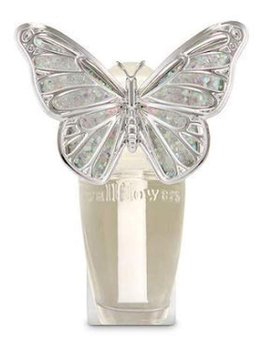 ブレス類似性協力的【Bath&Body Works/バス&ボディワークス】 ルームフレグランス プラグインスターター (本体のみ) スプリングバタフライ ナイトライト Wallflowers Fragrance Plug Spring butterfly Night Light [並行輸入品]