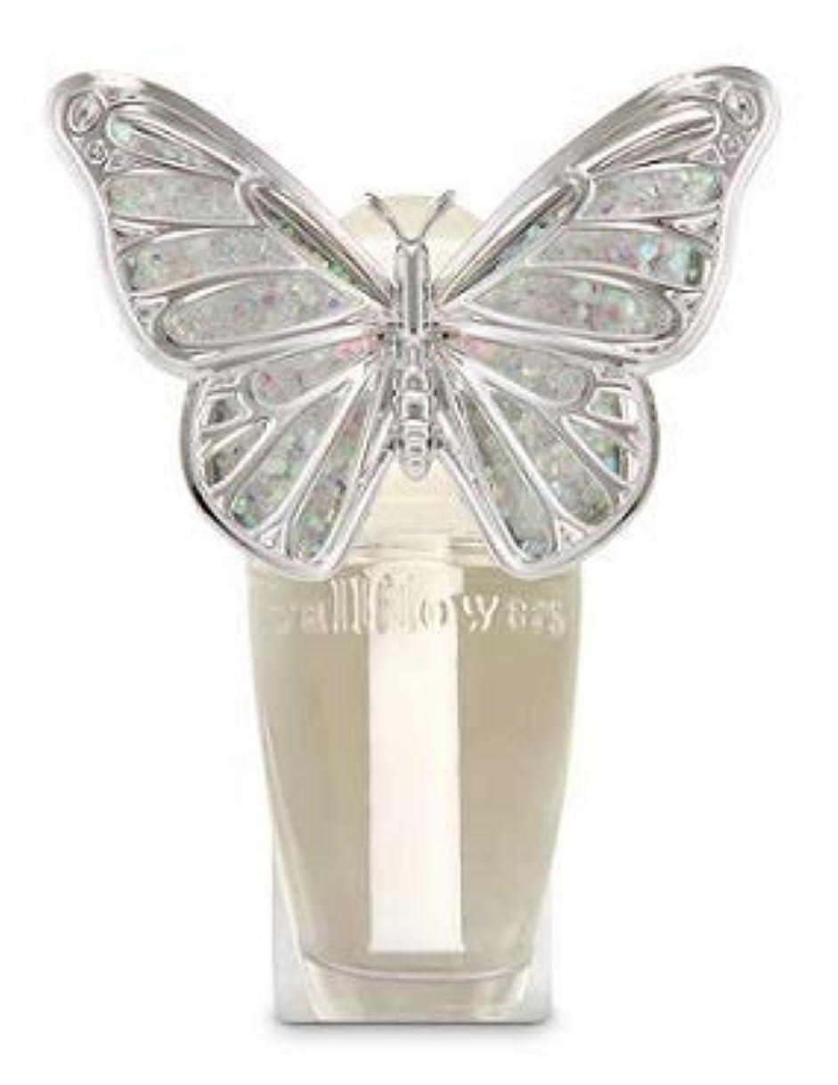 アニメーション人柄振りかける【Bath&Body Works/バス&ボディワークス】 ルームフレグランス プラグインスターター (本体のみ) スプリングバタフライ ナイトライト Wallflowers Fragrance Plug Spring butterfly Night Light [並行輸入品]