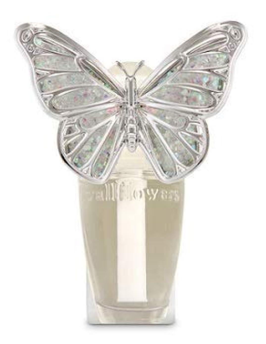 あまりにもスペア予測子【Bath&Body Works/バス&ボディワークス】 ルームフレグランス プラグインスターター (本体のみ) スプリングバタフライ ナイトライト Wallflowers Fragrance Plug Spring butterfly Night Light [並行輸入品]