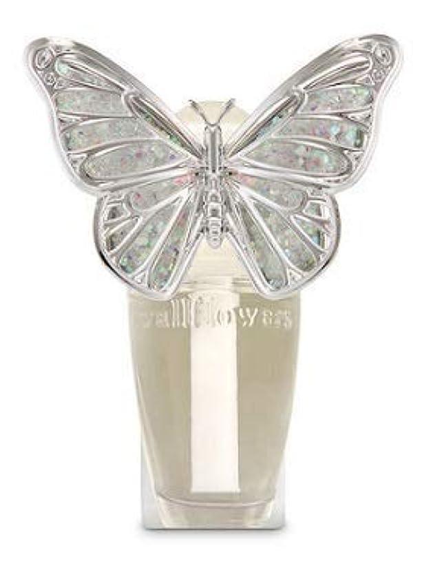 大量忘れっぽい事実上【Bath&Body Works/バス&ボディワークス】 ルームフレグランス プラグインスターター (本体のみ) スプリングバタフライ ナイトライト Wallflowers Fragrance Plug Spring butterfly Night Light [並行輸入品]