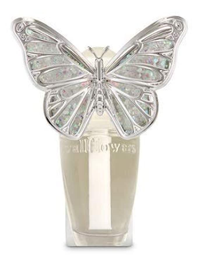 スチュアート島契約するおもしろい【Bath&Body Works/バス&ボディワークス】 ルームフレグランス プラグインスターター (本体のみ) スプリングバタフライ ナイトライト Wallflowers Fragrance Plug Spring butterfly Night Light [並行輸入品]