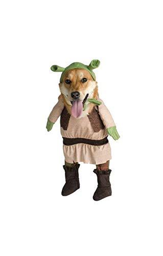 Horror-Shop Shrek Dog Costume Deluxe M