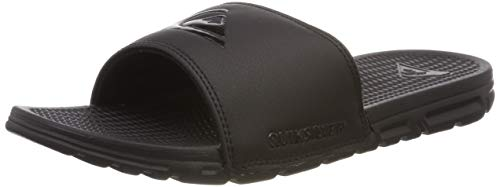 Quiksilver Shoreline, Zapatos de Playa y Piscina para Hombre, Negro Black/Grey Xkks, 44 EU