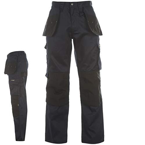 DUNLOP Herren On Site Cargo Safety Arbeitshose Hose Mit Taschen Arbeitskleidung Blau Medium