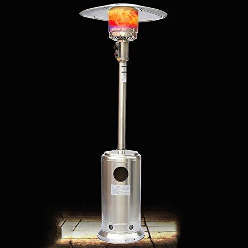 zunruishop Calentador de Ventilador eléctrico Terraza Calentador Hogar Otoño Paraguas Tipo Licuado Petróleo Gas Parrilla Estufa Sala de Estar Calentador Interior Cubiertas para radiadores (Color : C)