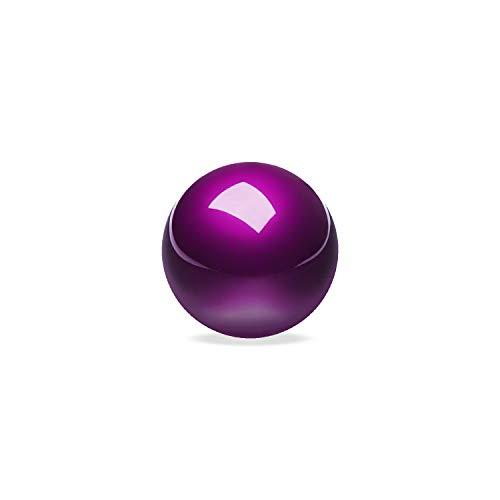 Perixx PERIPRO-303GP Kleiner Trackball, 1,34 Ersatzball für Perimice und M570, Elecom, Kensington, Glänzend Dunkelviolett