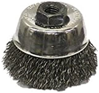 Sait 06401 2-3/4 Inch X 5/8 Inch -11 Crimped Wire Cup Brush(Sold By 2 Pack)