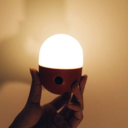 XHSHLID Kleine LED nachtlicht, USB Outdoor Camping nachtlicht kleines schlafzimmer Licht, 60 Tage verwendet Sensor Licht, Kinder nachtlichter lampen