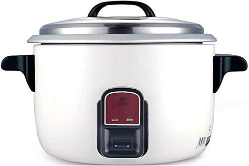 Fornello di riso Grande capacità Pentola di riso - 13L / 220V / 2000W Isolamento automatico e cottura rapida per mensa Ristorante fast food bianco Fornello di riso professionale bianco